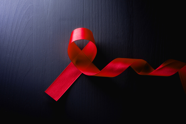 World Aids Day red ribbon